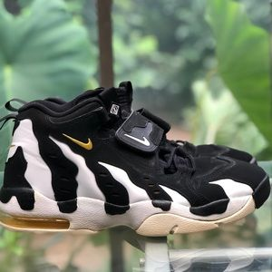 Nike Air DT Max '96 Black White Yellow Deion Sz 13